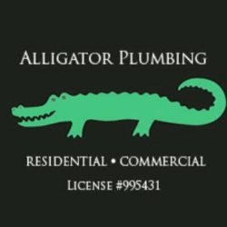 Alligator Plumbing Logo