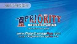 1st Priority Restoration Logo