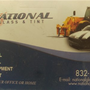 National Glass & tint Logo