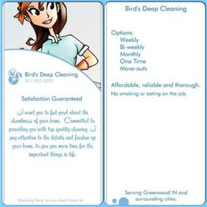 Birds Deep Cleaning Logo