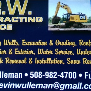 Krw Contracting Logo