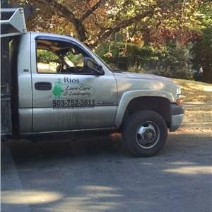 Rios Lawn Service Logo