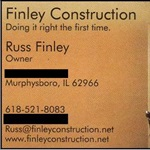 Finley Construction Logo