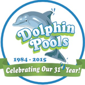 Dolphin Pools Construction Logo