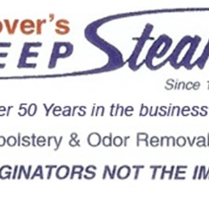Glovers Deep Steam Carpet Cleaners Logo