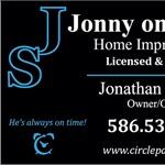 Jonny on the Spot Home Improvements Logo