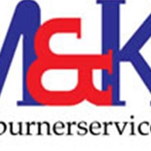 M&k Plumbing and Heating Logo