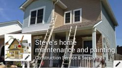 Steves home maintenance and painting Logo