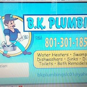 Bk Plumbing Logo