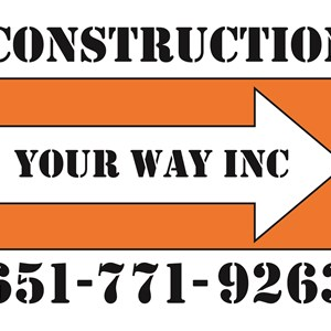 Construction Your WAY INC Logo