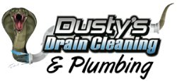 Dustys Drain Cleaning Logo