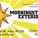 Morningstar Exteriors Inc. Cover Photo