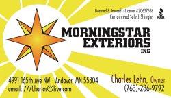 Morningstar Exteriors Inc. Logo