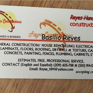 Reyes Handyman Services Cover Photo