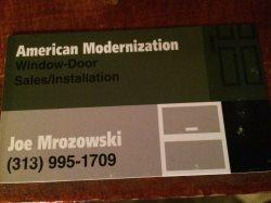 American modernization Logo