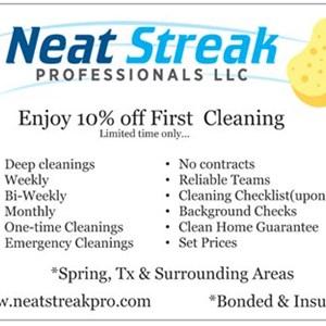 Neat Streak Professionals Logo
