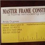 Masterframe Construction Inc Cover Photo