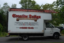 Creative Design Ceramic Tile & Bath Logo