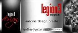 Legion3 Design Group, Llc. Logo