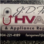 J.d. Faris Hvac & Appliance Repair Logo