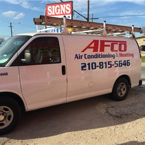 Afco Air Conditioning & Heating Logo
