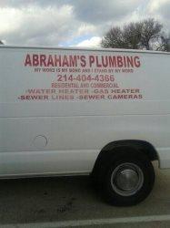 Abrahams Plumbing Logo