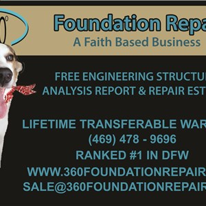 360° Foundation Repair, LLC Logo