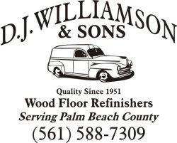 Dj Williamson & Sons Wood Flooring, Inc. Logo