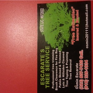 Escarates Tree Service Cover Photo