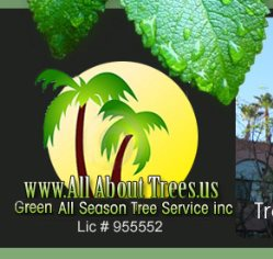 Green All Season Tree Service Inc Logo