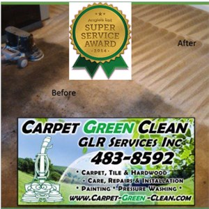 Carpet Green Clean, GLR Services Inc Logo