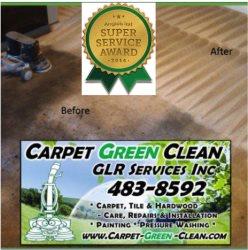 Carpet Green Clean, GLR Services Inc Logo
