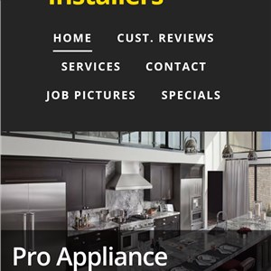 Pro Appliance Installers Logo