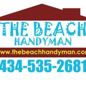 THE BEACH HANDYMAN Logo