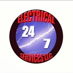 24/7 Electrical Services LLC Logo