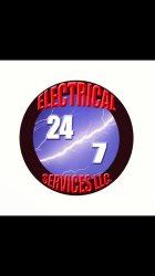 24/7 Electrical Services LLC Logo