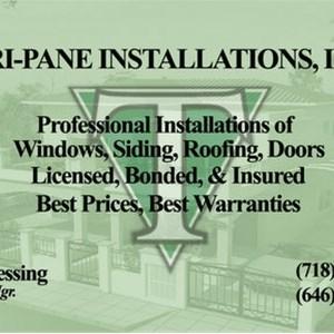 Tri-pane Installations Inc Logo