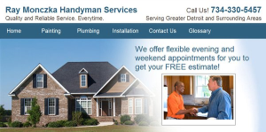 Ray Monczka Handyman Service Logo