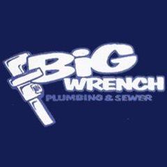 Big Wrench Plumbing Logo