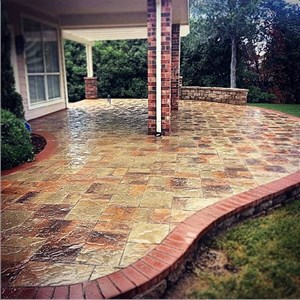 Concrete Brick Pavers