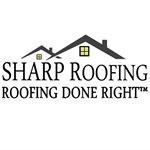 Sharp Roofing Logo