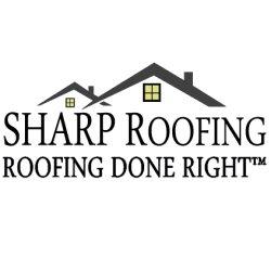 Sharp Roofing Logo