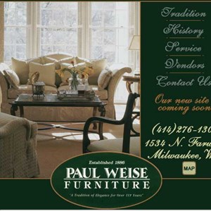 Paul Weise Furniture Cover Photo