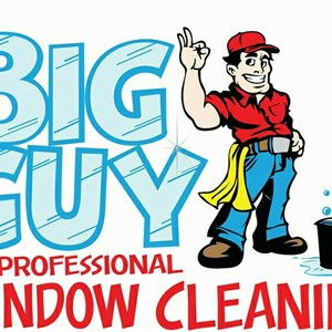 Big Guy Professional Window Cleaning Logo