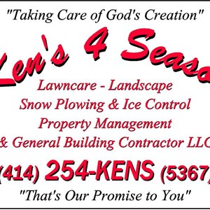 Kens 4 Season Lawncare & Landscape Logo