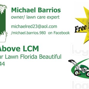 A Step Above Lawn Care Logo