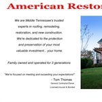 American Restoration Specialists, LLC Cover Photo