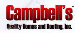 Campbells Quality Homes and Roofing Logo