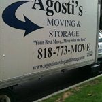 Agostis Moving & Storage Logo