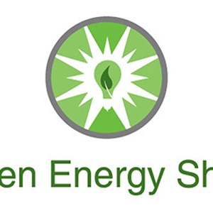 Green Energy Shield Logo